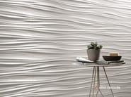 White-paste 3D Wall Cladding 3D WALL DESIGN RIBBON - Atlas Concorde