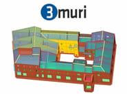 Masonry and mixed construction calculation 3Muri Professional - S.T.A. DATA
