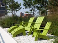 Deck chair with armrests 4 SLAT ADIRONDACK - Loll Designs