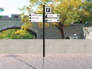 Metal Road sign 4CITY | Road sign - SIT