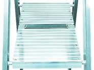 Aluminium heavy duty ladder 6025 - Frigerio Carpenterie