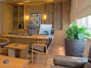 Wooden office desk / meeting table 6514B | Office desk - Dyrlund