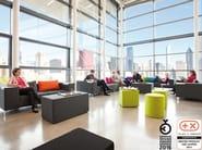 Sectional fabric sofa 90DEEGREE - SMV Sitz- und Objektmöbel