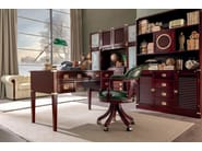 Modular wooden office shelving 911 | Modular office shelving - Caroti