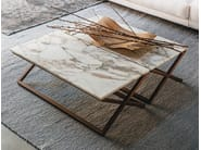 Rectangular marble side table 9500 - 32 | Marble coffee table - Vibieffe