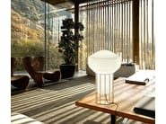 Blown glass table lamp AÉROSTAT | Table lamp - Fabbian