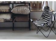 Real cow hide, zebra print