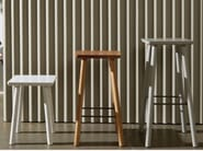 High wooden stool ACROCORO | High stool - Atipico