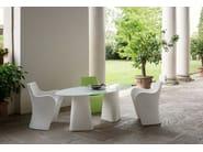 Polyethylene table ADAM | Oval table - B-LINE