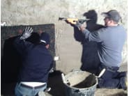 Sistema di risanamento per interrati AERO-DRY SANIERPUTZSYSTEM® - AERO-DRY ITALIA