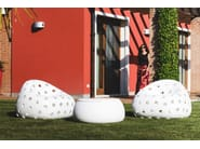 Polyethylene garden armchair AIRBALL ARMCHAIR - PLUST Collection by euro3plast
