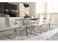 Extending rectangular table AIRPORT ONE - Calligaris