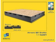 Ventilated roof system AIRVENT BD GRAFITE | Ventilated roof system - GHIROTTO TECNO INSULATION