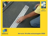 Ventilation grille and part AIRVENT - GHIROTTO TECNO INSULATION