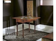Extending rectangular solid wood console table ALESSANDRO - Arvestyle