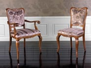 Upholstered chair ALEXANDER | Chair with armrests - Arvestyle