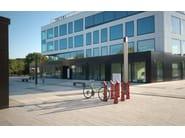 Steel Bicycle rack / bollard ALFA - CITYSì