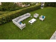 Sectional garden sofa ALGARVE - Varaschin