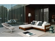Outdoor sofa ALISON IROKO OUTDOOR - Minotti