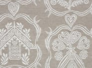 Jacquard fabric with graphic pattern ALPAGE STEMMI - l'Opificio