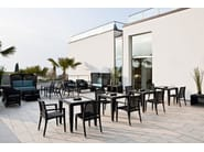 Synthetic fibre easy chair ALTEA | Easy chair - Varaschin