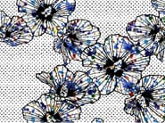 Fabric wallpaper with floral pattern AMAZING FLOWER - MyCollection.it