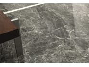 Porcelain stoneware wall/floor tiles with marble effect ANIMA GREY ST. LAURENT - Ceramiche Caesar