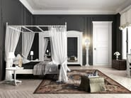 Classic style wooden canopy bed ANSOUIS | Double bed - Minacciolo