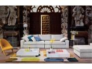 Fabric armchair ARABESK - Matrix International