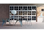 Oval glass table ARC | Oval table - MOLTENI & C.