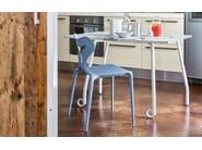 Technopolymer chair AREA51 - Calligaris