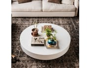 Lacquered round coffee table ARENA - Cattelan Italia