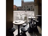 Polyethylene stool ARMILLARIA STOOL - PLUST Collection by euro3plast