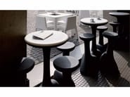 Polyethylene table ARMILLARIA TABLE - PLUST Collection by euro3plast