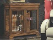 Solid wood display cabinet ARMONIE | Display cabinet - Arvestyle