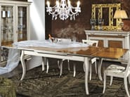 Extending solid wood table ARMONIE | Rectangular table - Arvestyle