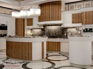 Makassar kitchen Zebran version - Arrogance Collection - Modenese Gastone