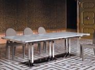 Tavolo da pranzo rettangolare in marmo ARTÙ | Tavolo - Fratelli Longhi