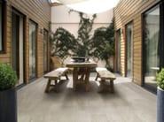 Porcelain stoneware outdoor floor tiles with stone effect ARTICA ROC - Saime Ceramiche