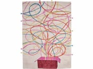 Tappeto rettangolare in seta ARTIFICE - ITALY DREAM DESIGN - Kallisté