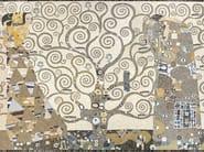 Marble mosaic ARTISTIC CONTEMPORARY - OMAGGIO A KLIMT - Lithos Mosaico Italia - Lithos