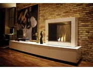 Freestanding bioethanol fireplace ASPECT - EcoSmart Fire