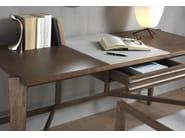 Scrivania rettangolare in legno massello ATHOS - Pacini & Cappellini