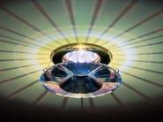 Halogen recessed spotlight with Swarovski crystals ATLAS - Swarovski International Distribution