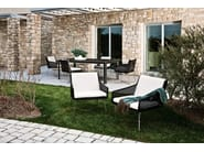 Garden armchair with armrests AVALON | Armchair - Varaschin