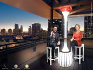 Outdoor heater / misting system AVANA - Enjoy your Life by Idrobase Group