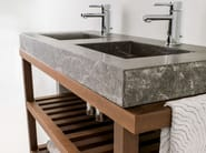 Double console sink AZRAMA VANITY | Double vanity unit - L'Antic Colonial
