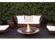 Bioethanol freestanding fireplace AYRE - EcoSmart Fire