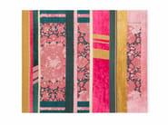 Tappeto rettangolare in lana e seta a righe B4 | Tappeto - Golran