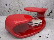 Tavolino laccato in Adamantx® BAIZO' - ZAD ITALY